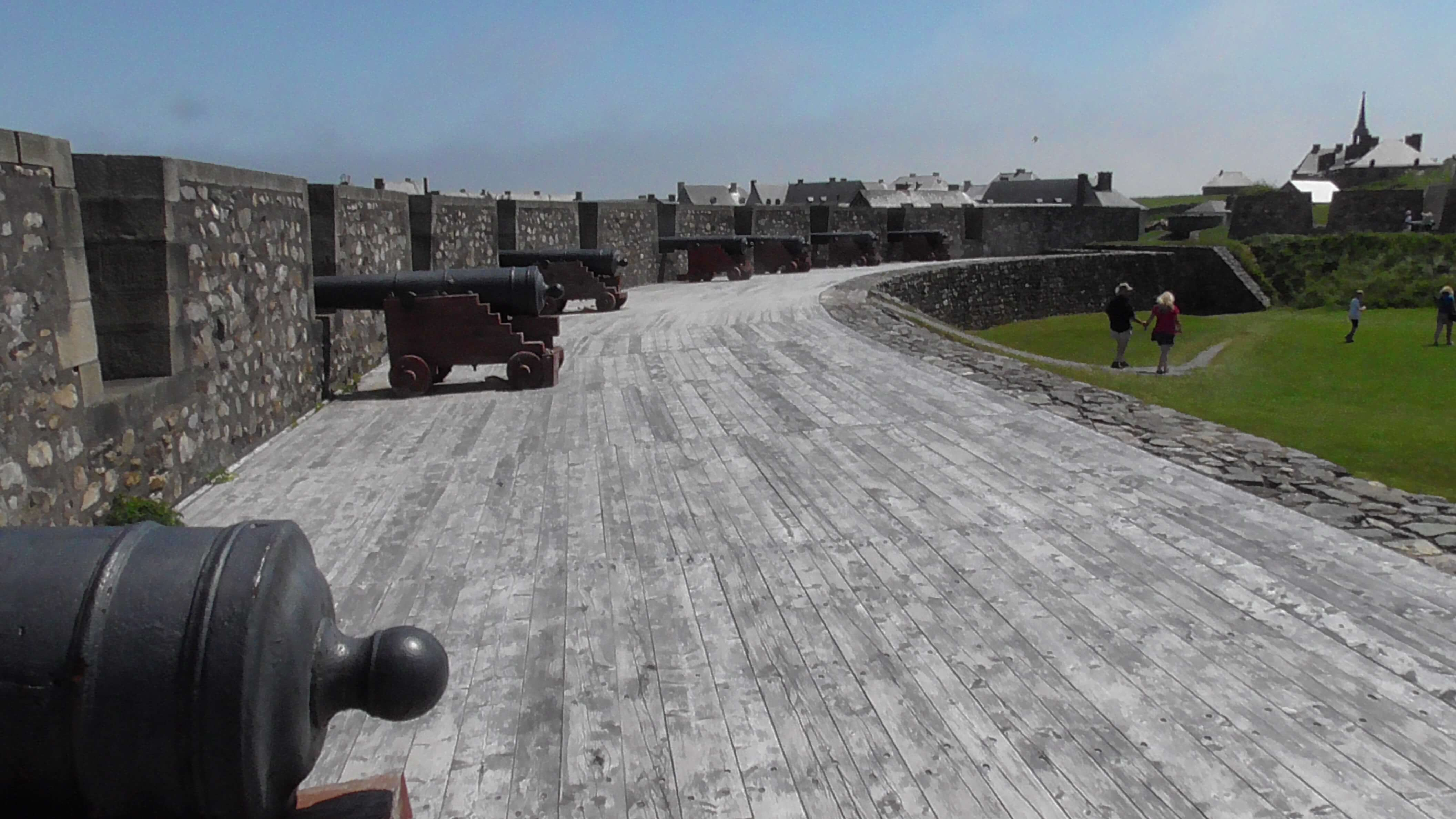 Cannons at Fort Louisbourg