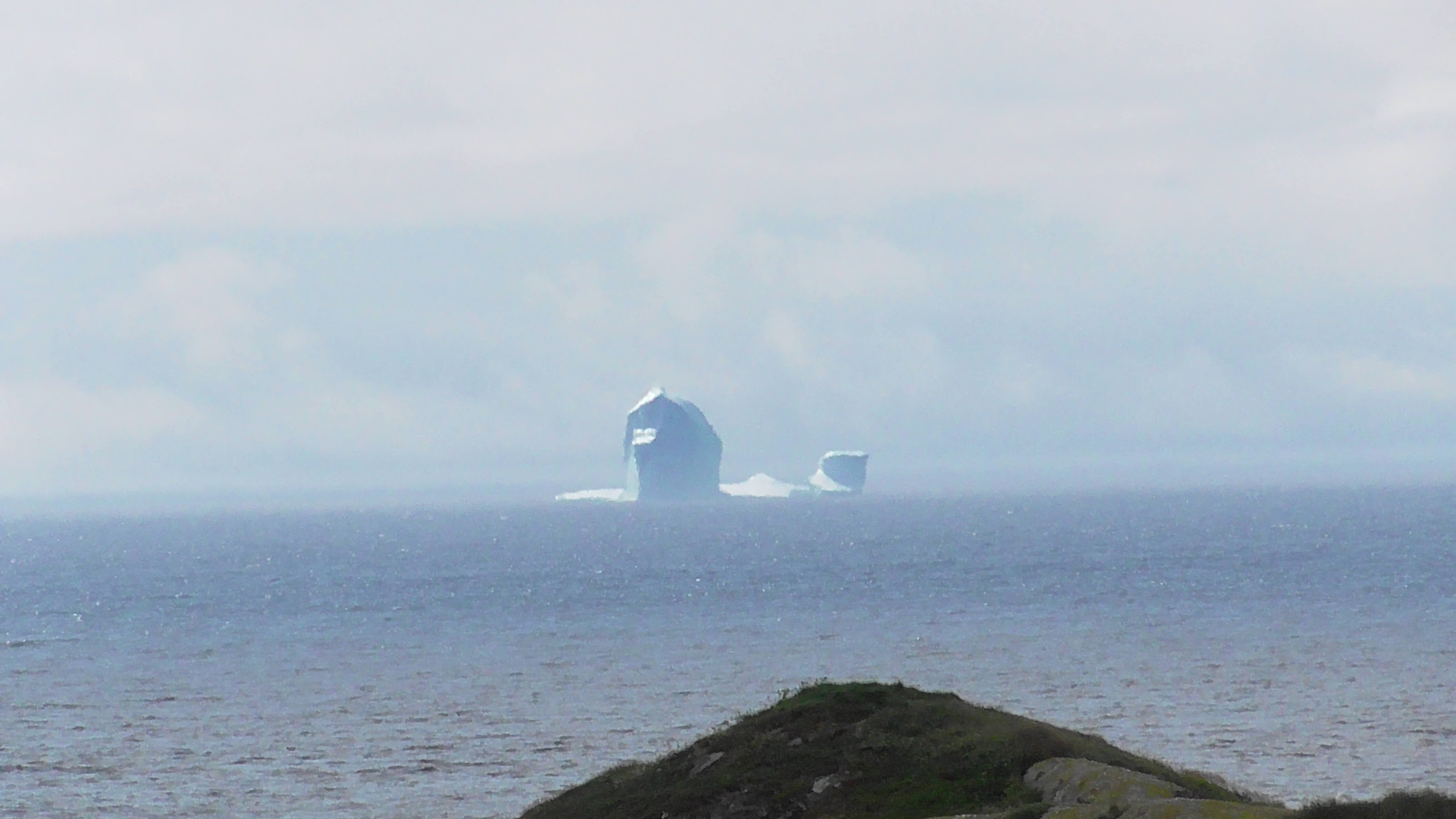 Iceberg seen from Saddle Island, Red Bay