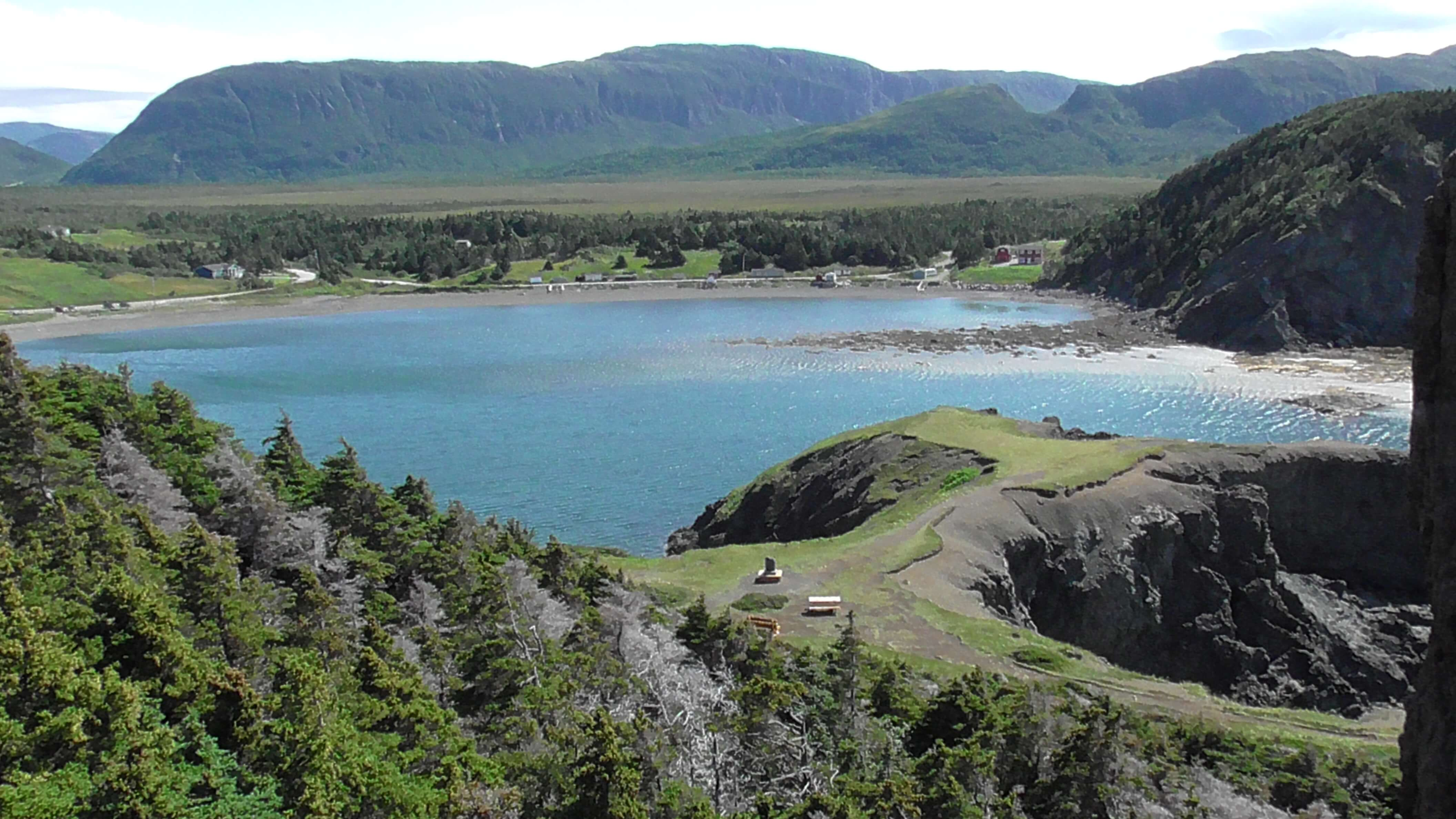 Bottle Cove from Sunset Hill