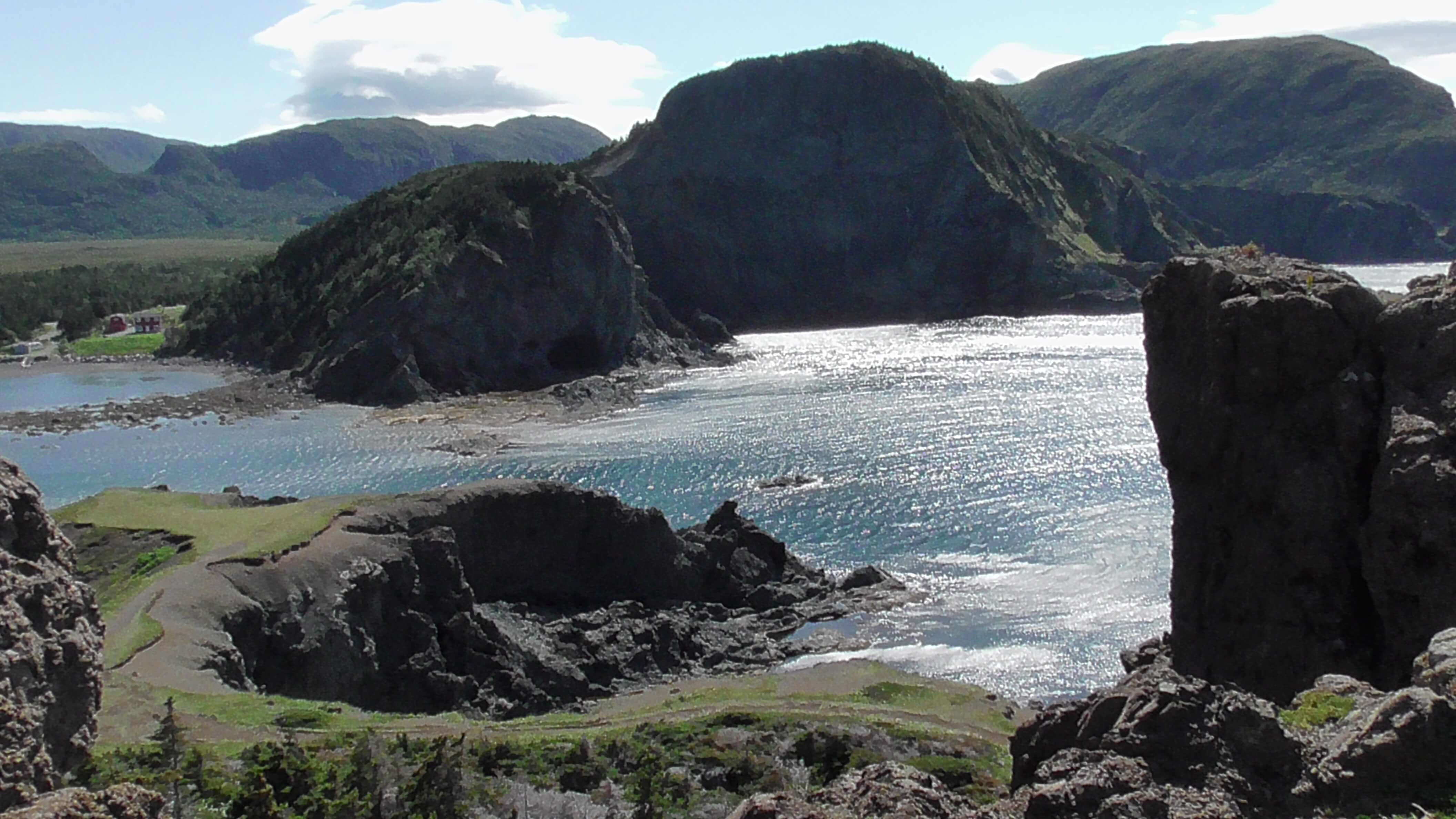 Entrance to Bottle Cove