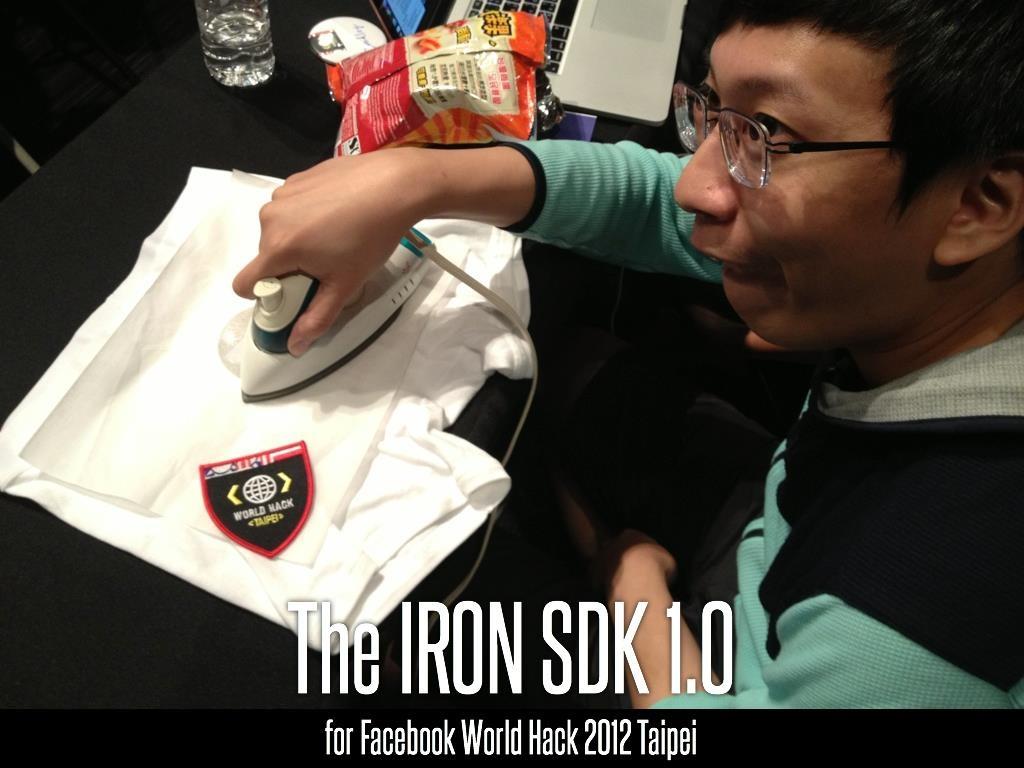 "We called it ""The IRON SDK."""