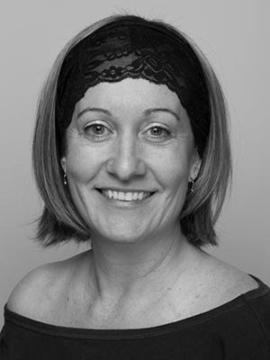 Stephanie Merrow is a dance teacher. She teachers acrobatics, tumbling and aerial silks and circus arts.