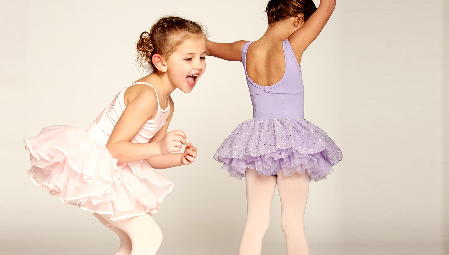 Preschool dancers, dance lessons