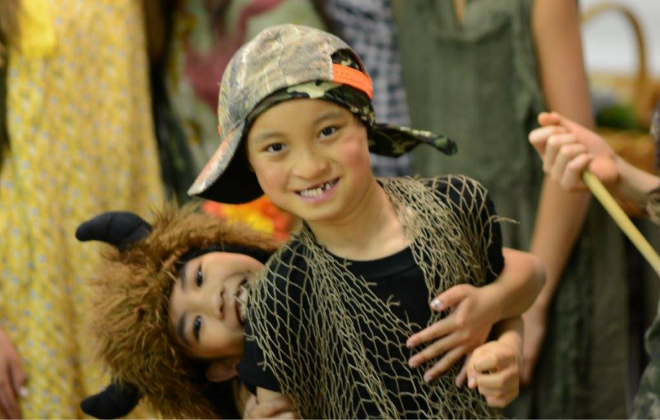 The Lost Boys of Peter Pan perform.