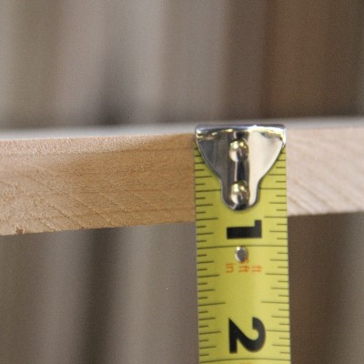 4/4 Surfaced 2-Sided Straight Lined 1 Edge