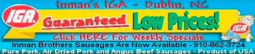 IGA Store Banner