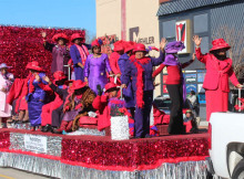 Red Hats at MLK Parade