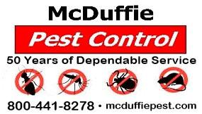 McDuffie Pest Control Biz Card