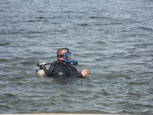 Clear Water at White Lake Hosts Training Dives