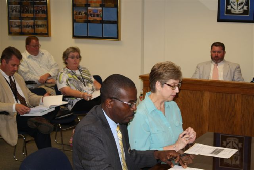 5 Bladen County Commissioners