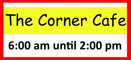 Corner Cafe Banner ad for click through