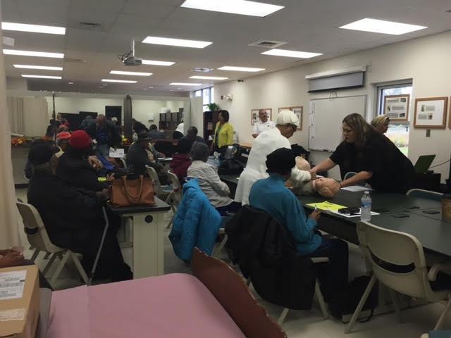 4 EMS Training at East Arcaida Bladen Community College