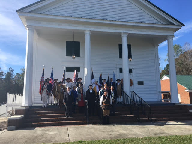 SAR and DAR honoring Brown in Bladen County