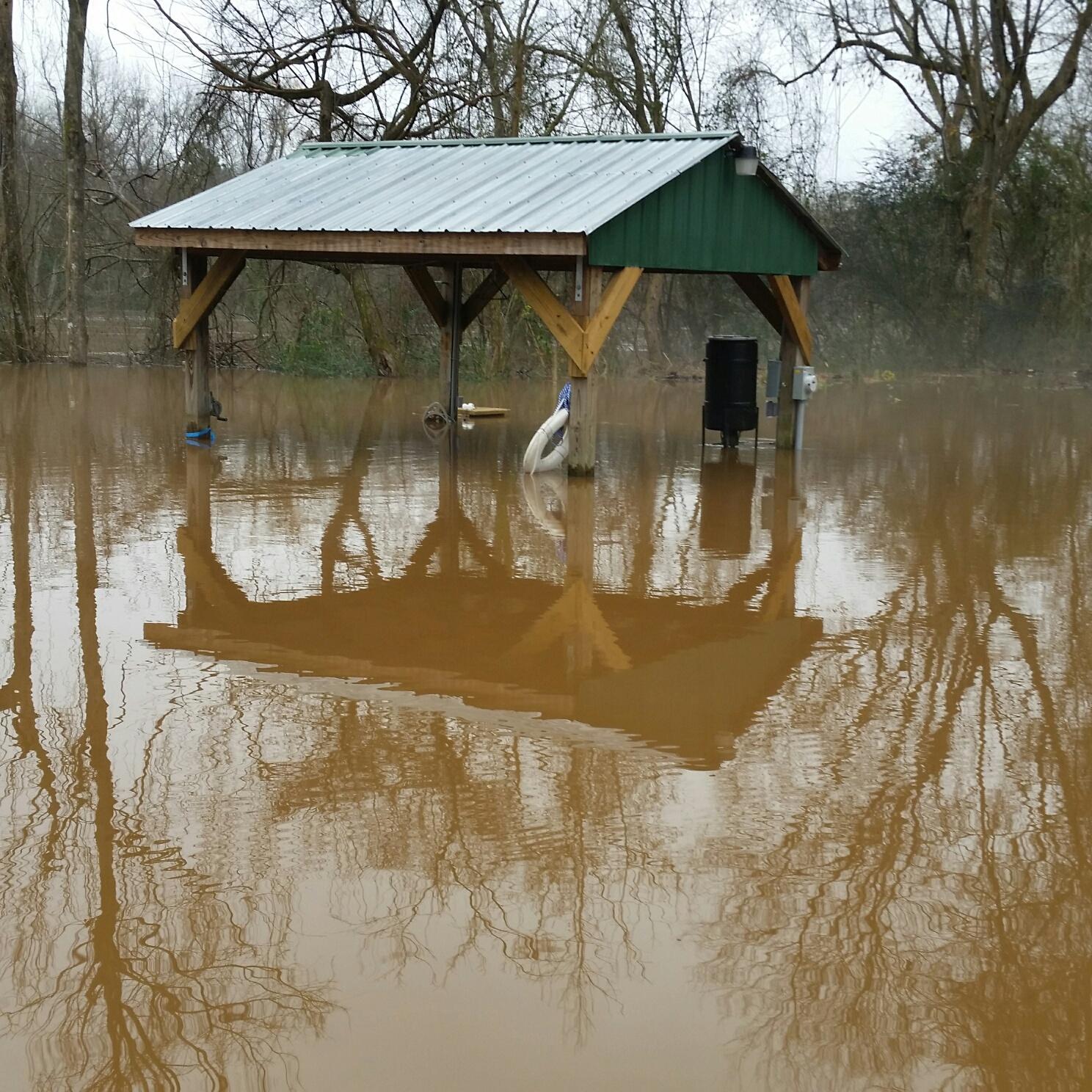 Greene's Pond Flooding