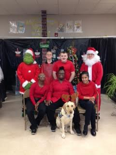 West Bladen High Students perform Christmas play