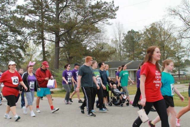 Bunny Fun Run for Bladen County Relay for Life 11