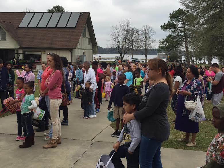 Jones Lake State Park holds Easter Egg Hunt, marks state parks centennial 4