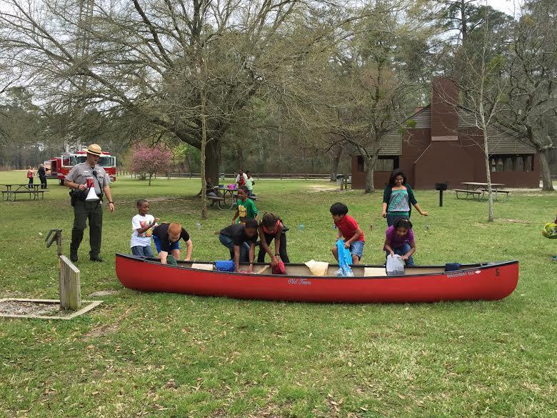 Jones Lake State Park holds Easter Egg Hunt, marks state parks centennial 8