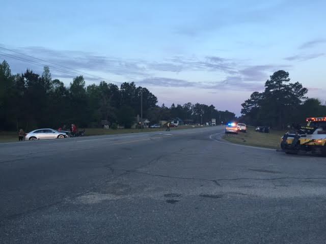 Crash on US 701 sends one to hospital