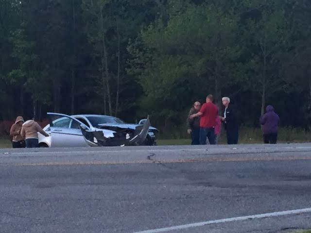 Crash on US 701 sends one to hospital 2