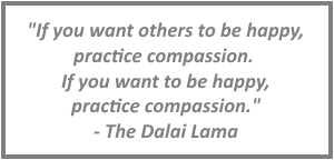 Dalai Lama quote about compassion