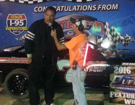 U-Car winner Brandon Jacobs