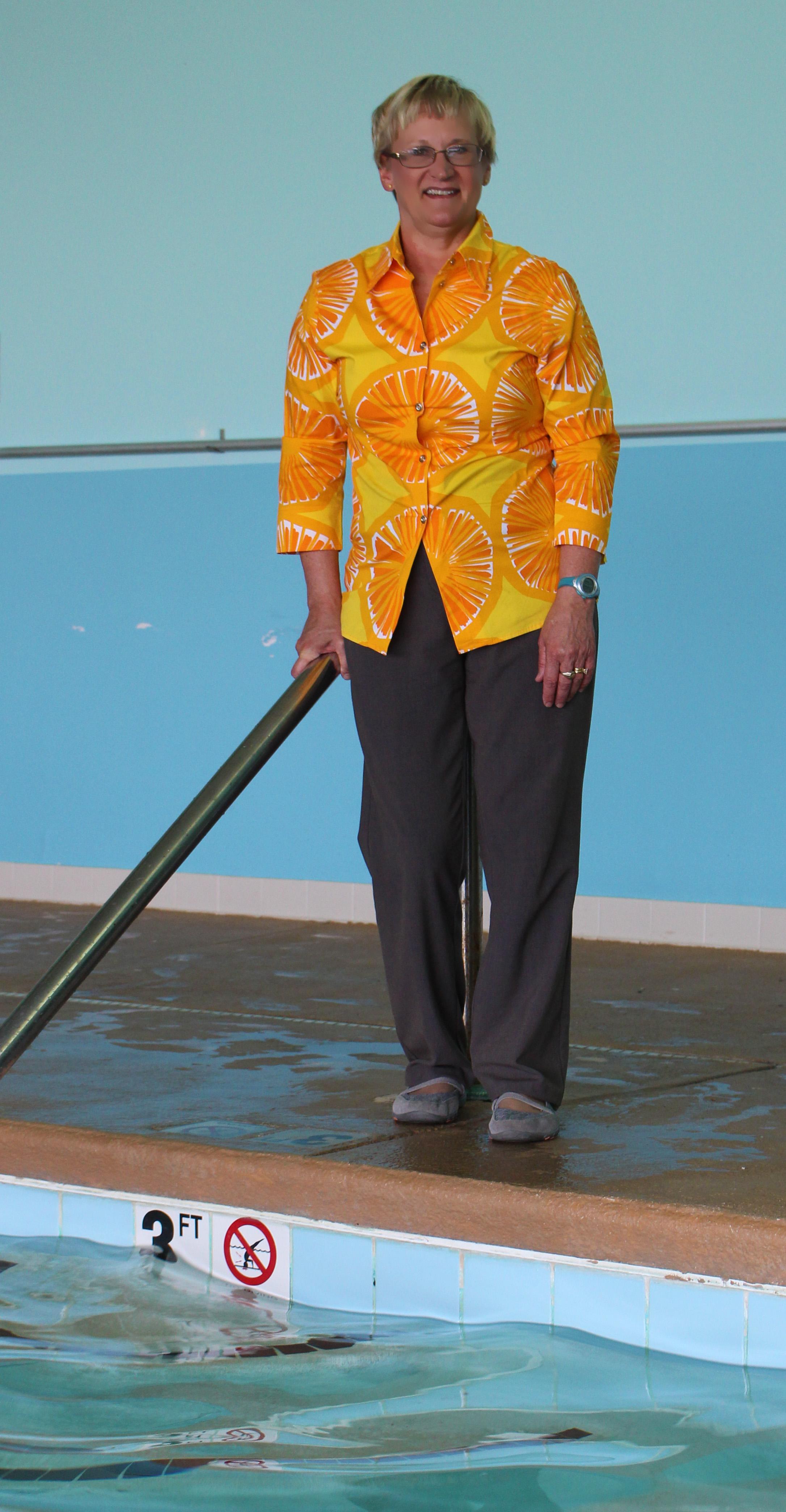 Mrs. Tiina Mundy, Long Leaf Pine award recipient