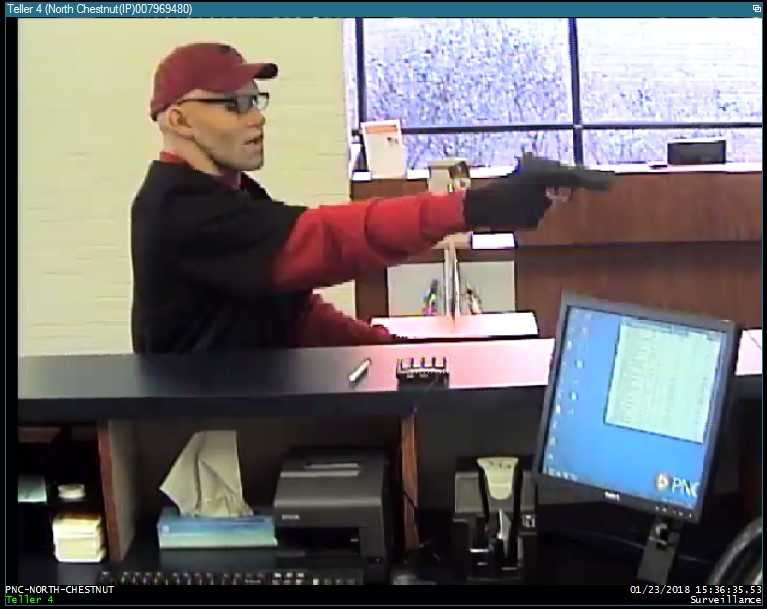PNC Bank robbery Suspect 1