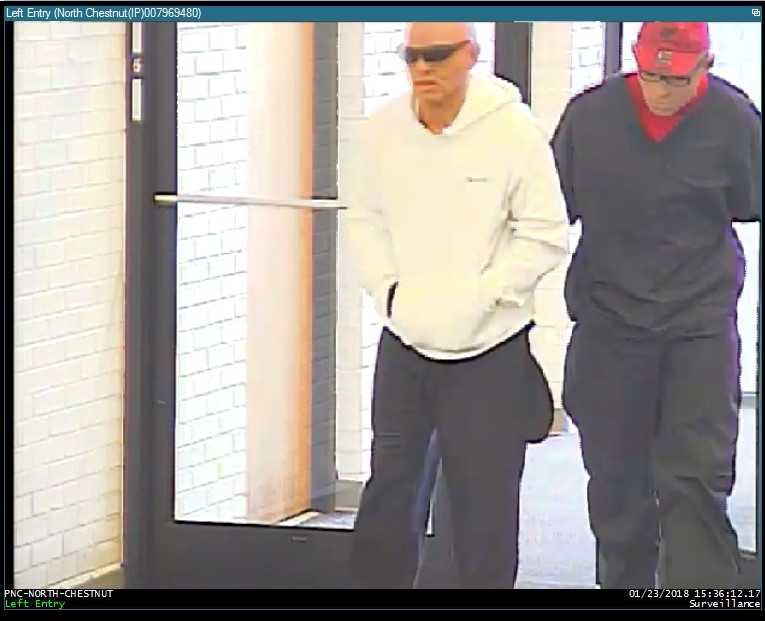 PNC Bank robbery Suspects 1 and 2