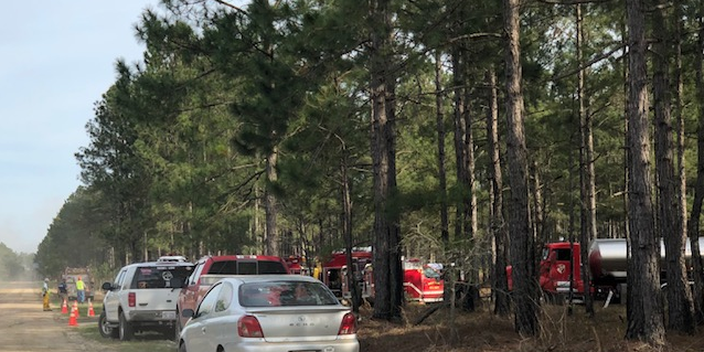 Woods Fire NC 41 East 6