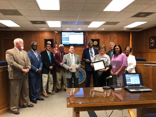 Bladen Commissioners Jane Walters