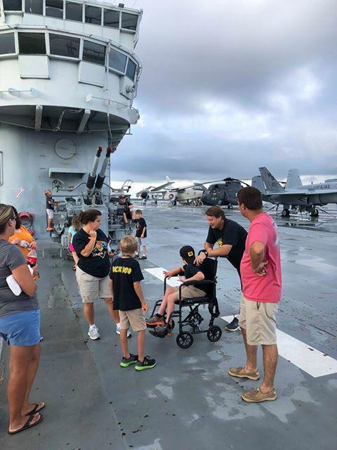 USS Yorktown Pack 600 J