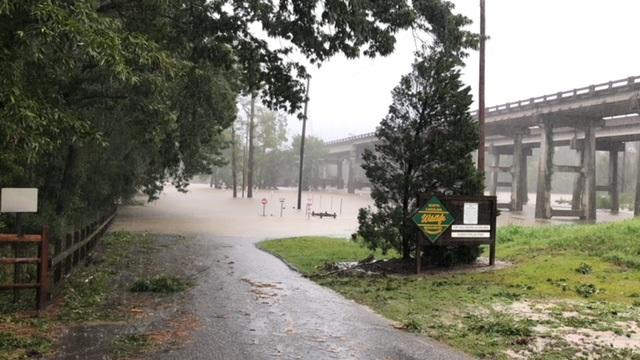 Hurricane Florence Elizabethown Flooding Sept 16, 2018 8