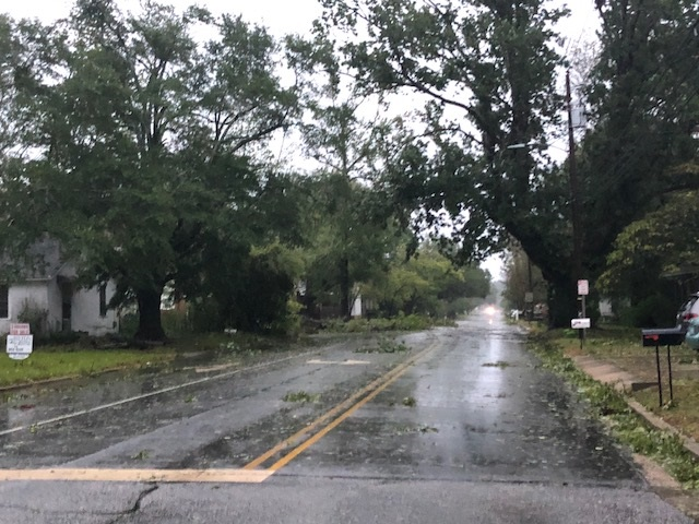 Hurricane Florence Elizabethtown After Storm