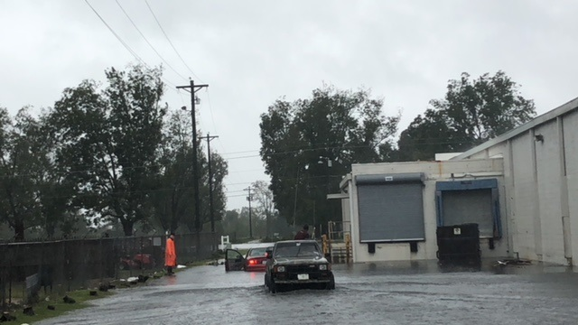 Hurricane Florence Elizabethtown Flooding Sept 16 2018 1