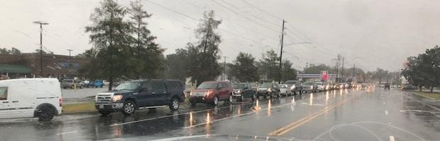 Hurricane Florence Elizabethtown Flooding Sept 16, 2018