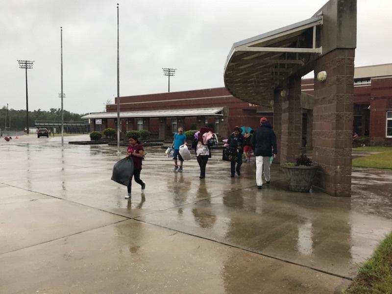 Hurricane Florence West Bladen High Shelter 1
