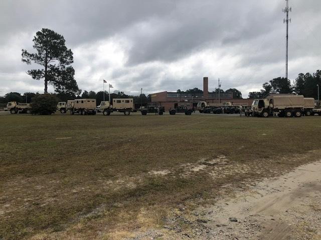 National Guard Units Hurricane Florence