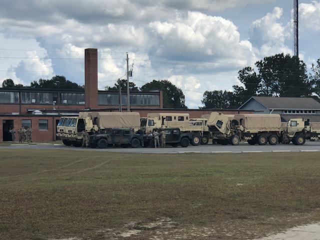 Troops Arrive in Bladen 3