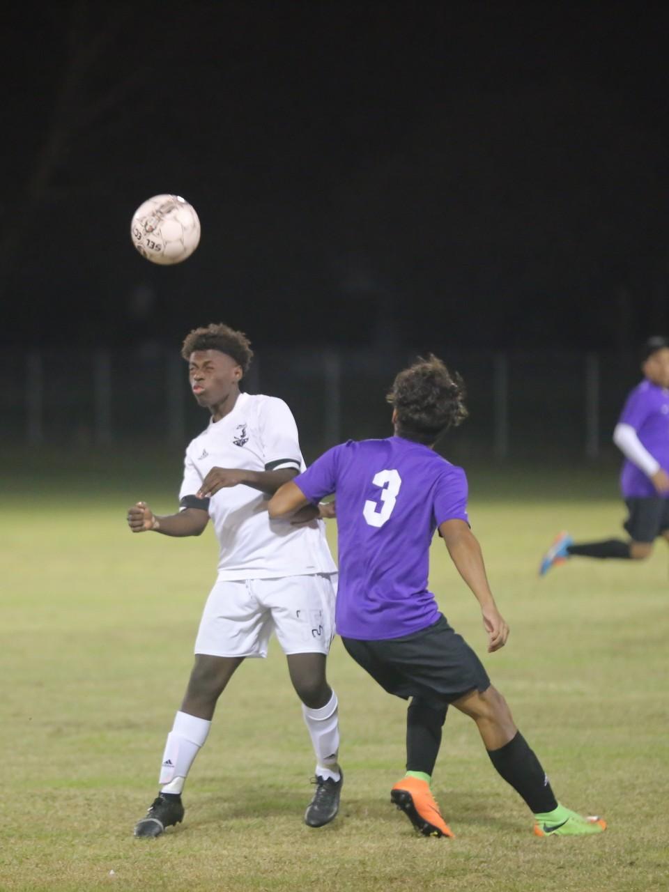 East Bladen vs West Bladen boys soccer 6