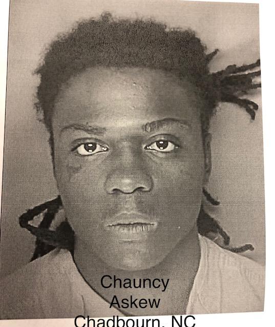 Chauncy Askew from Chadbourn NC suspect in trooper's murder