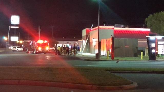 Burger King Fire 1