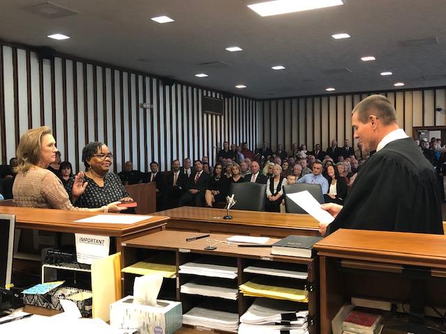 Swearing in 2018 Deputy Register of Deeds