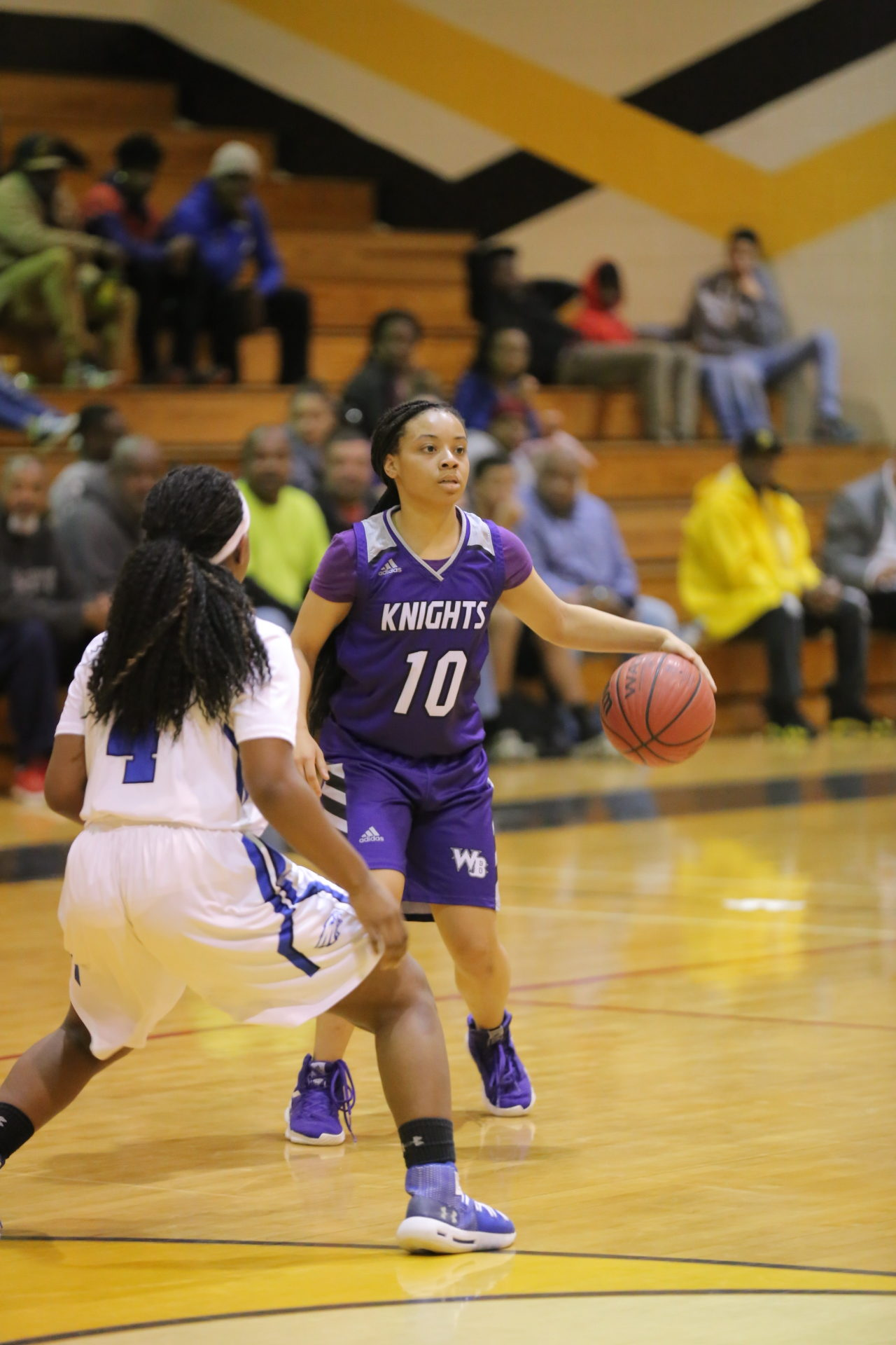 West Bladen vs East Bladen girls playoff basketball 10