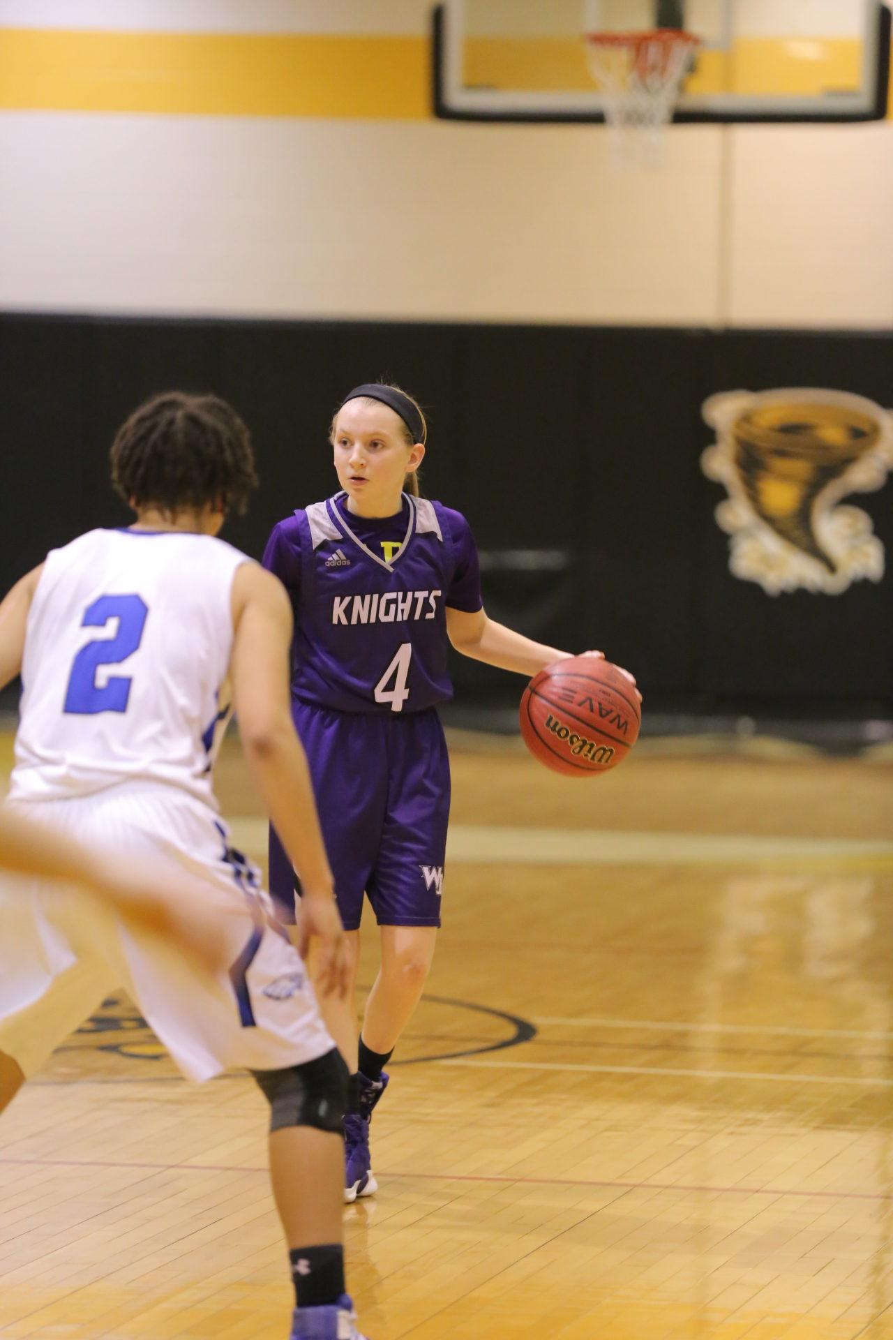 West Bladen vs East Bladen girls playoff basketball 11