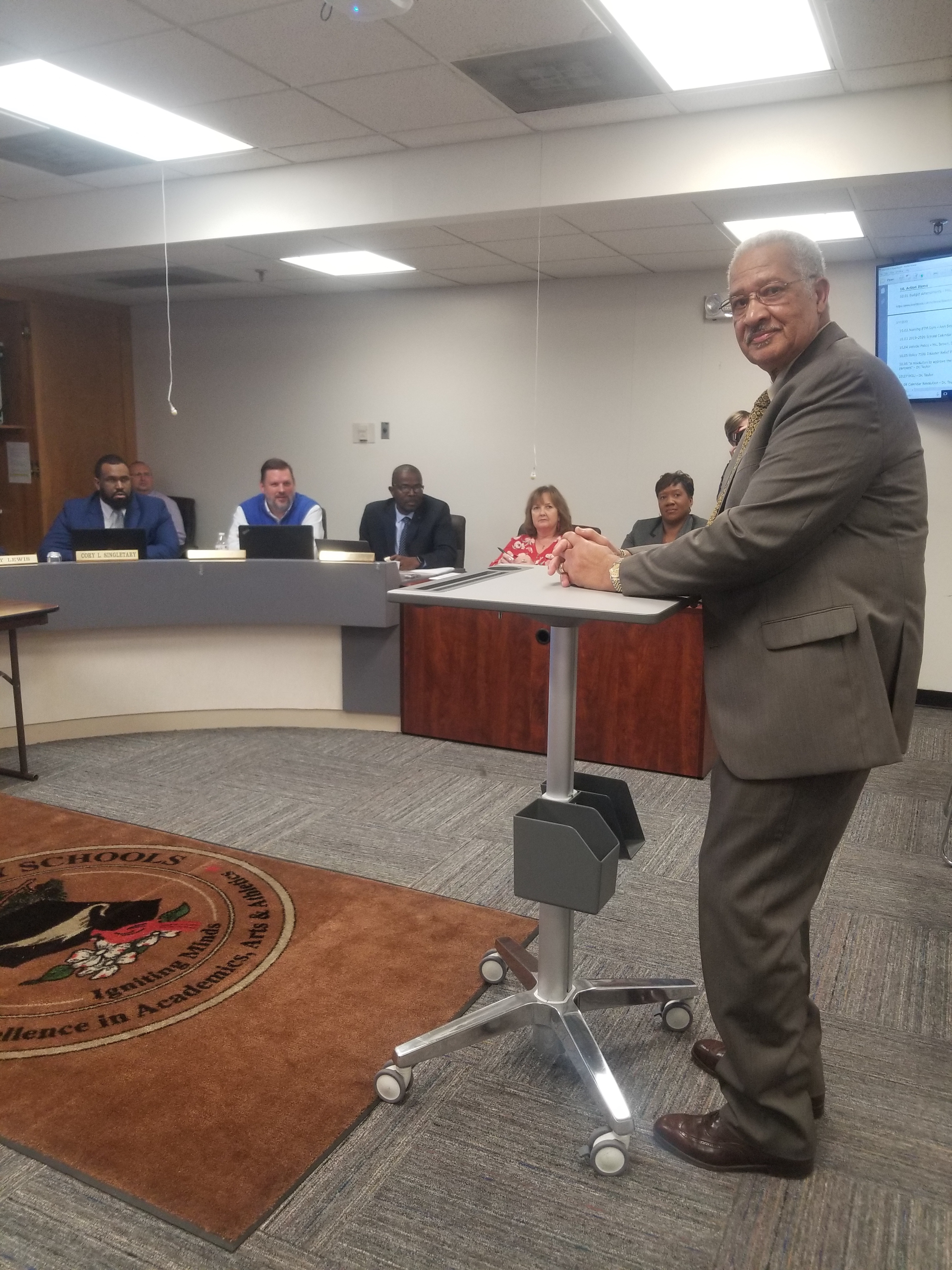 Board of Education March 2019