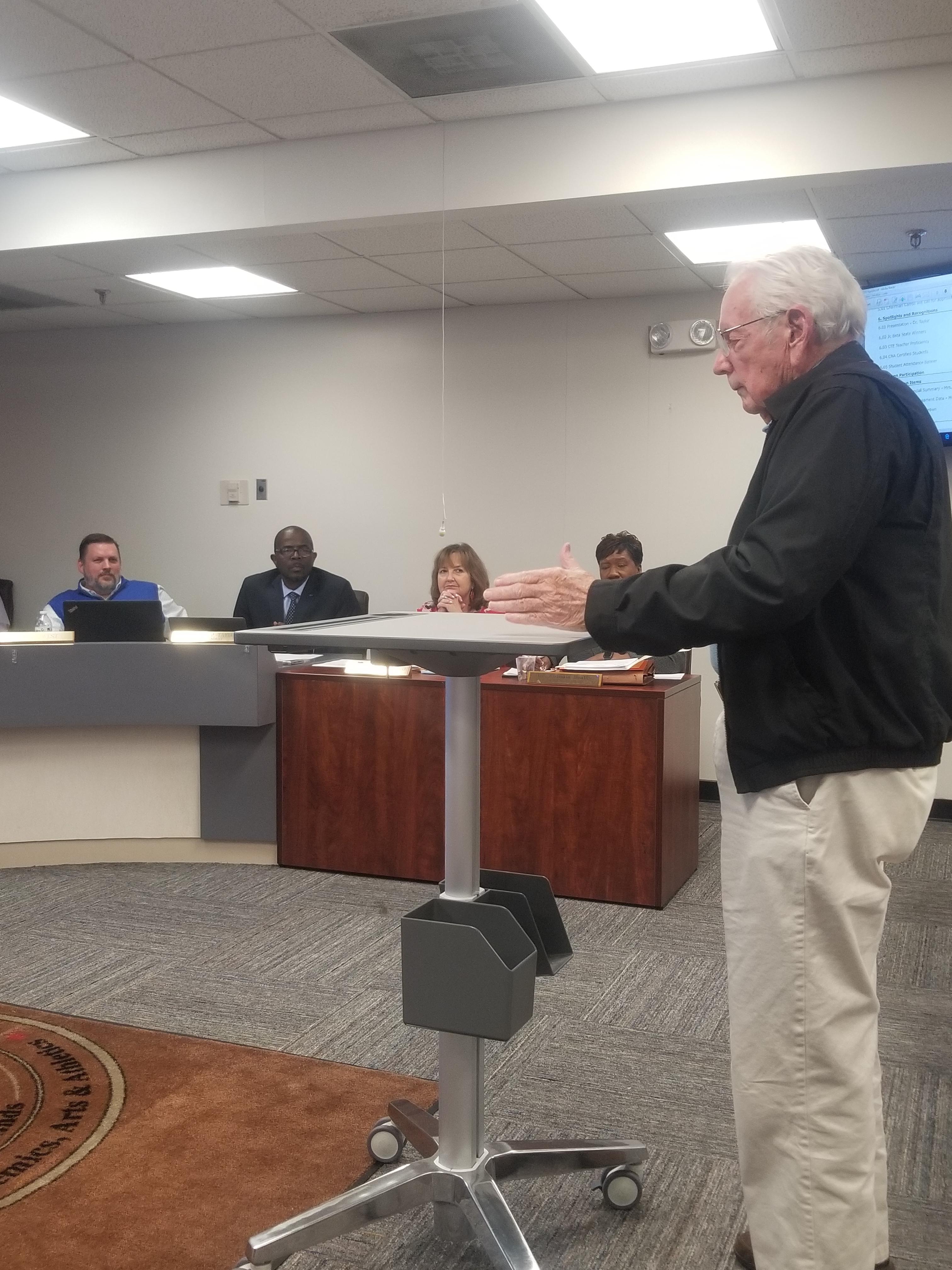 David Clark Board of Education