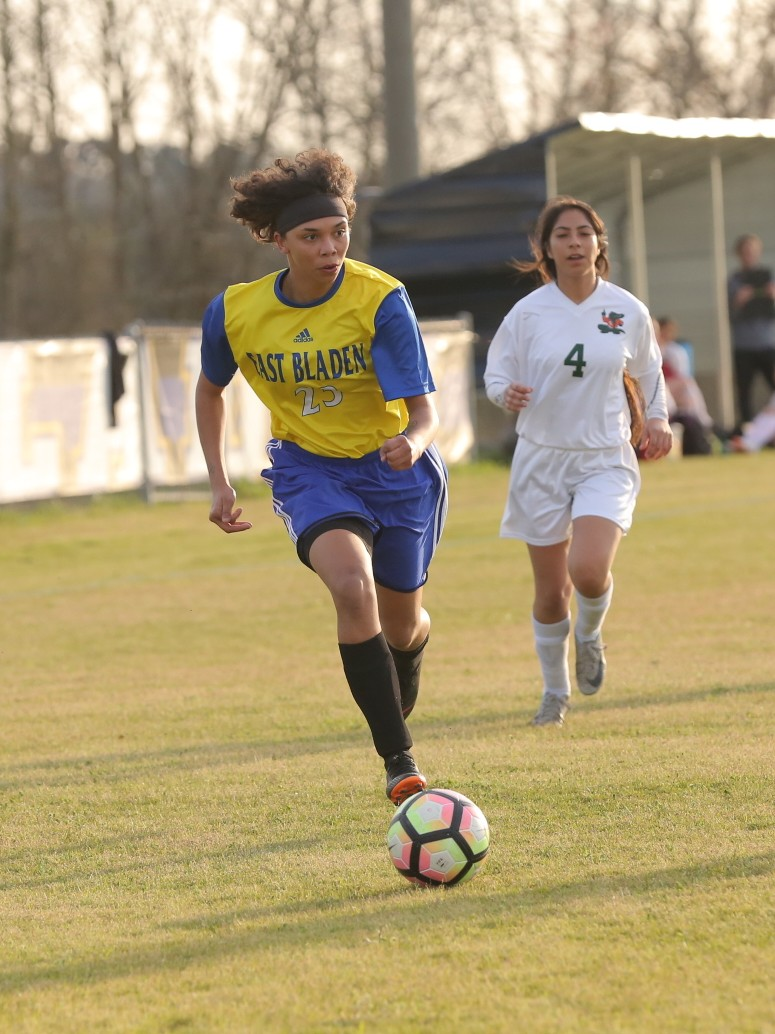 East Columbus vs East Bladen girls soccer 1