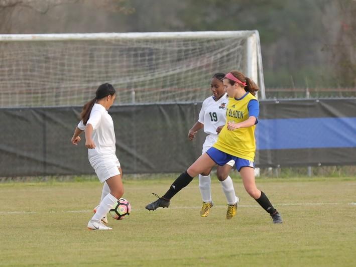 East Columbus vs East Bladen girls soccer 10
