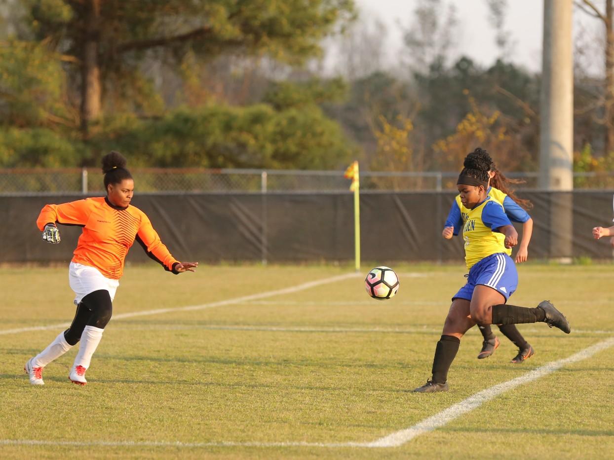 East Columbus vs East Bladen girls soccer 11